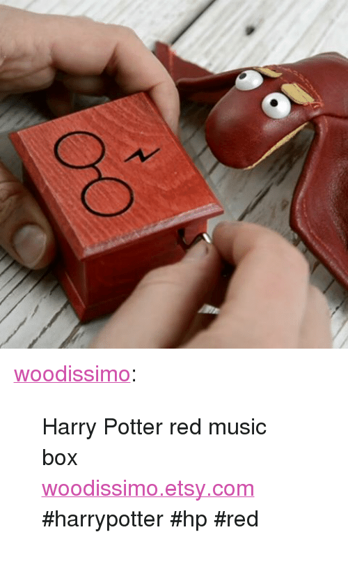 """Harry Potter, Music, and Tumblr: <p><a href=""""https://woodissimo.tumblr.com/post/166885715875/harry-potter-red-music-box-woodissimoetsycom"""" class=""""tumblr_blog"""">woodissimo</a>:</p><blockquote><p>Harry Potter red music box<br/><a href=""""https://www.etsy.com/listing/512556170/harry-potter-glasses-and-scars-lightning"""">woodissimo.etsy.com</a><br/>  #harrypotter #hp #red</p></blockquote>"""
