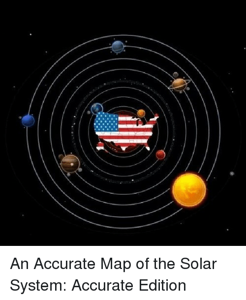 p>An Accurate Map of the Solar System Accurate Edition<p> | Solar ...