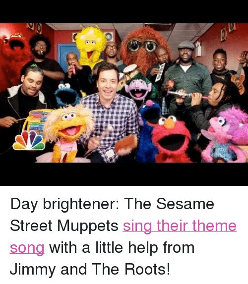 p>Day Brightener the Sesame Street Muppets <a Href