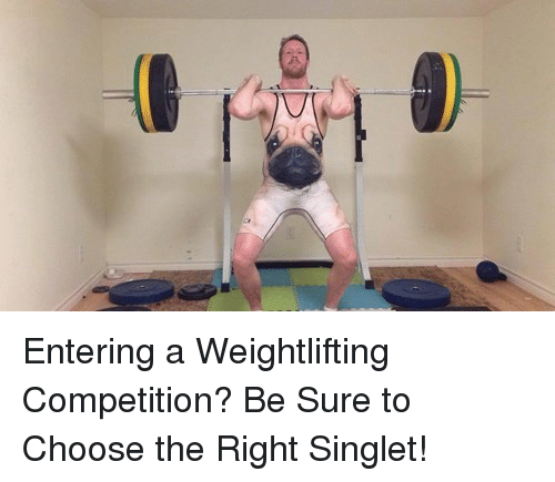 Pentering A Weightlifting Competition Be Sure To Choose The Right