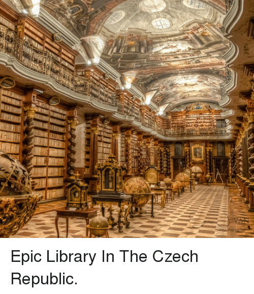 Library, Epic, and Republic: <p>Epic Library In The Czech Republic.</p>