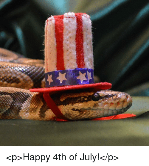 4th of July, Happy, and July: <p>Happy 4th of July!</p>