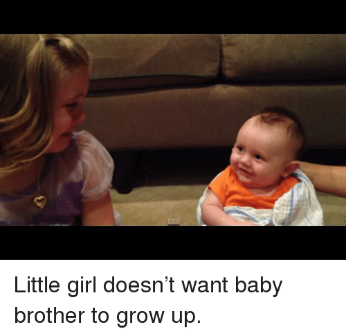 Girl, Baby, and Brother: <p>Little girl doesn't want