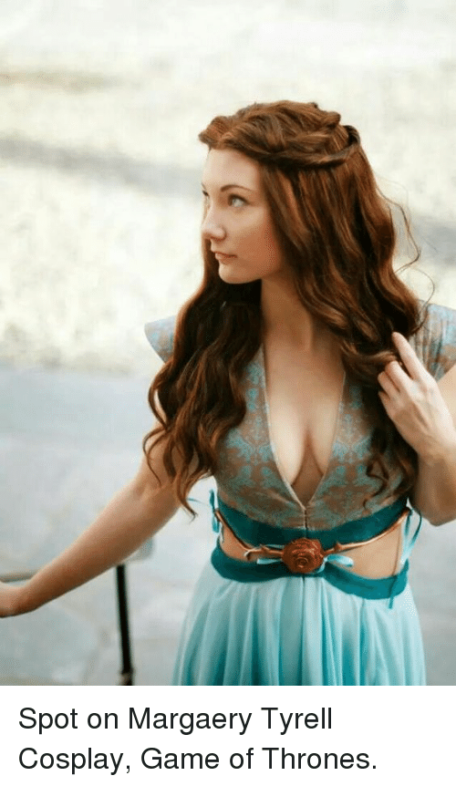 Game of thrones margaery cosplay