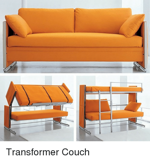 p>Transformer Couch<p> | Couch Meme on ME ME