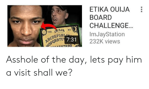 USt ETIKA OUIJA BOARD CHALLENGE AT 3AM!! GONE WRONG You Truly Are