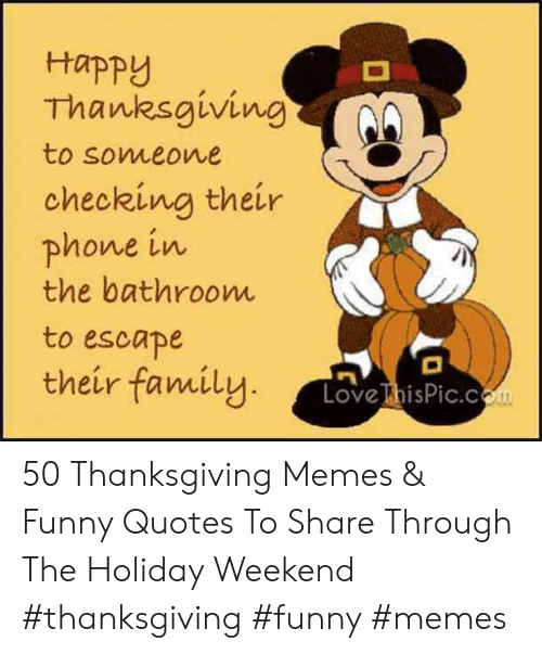 наpру Thanksgiving to Someone Checking Their Phone in the ...