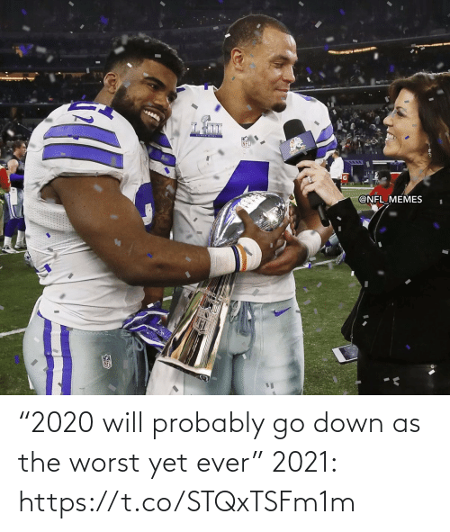 """Football, Nfl, and Sports: """"2020 will probably go down as the worst yet ever""""  2021: https://t.co/STQxTSFm1m"""