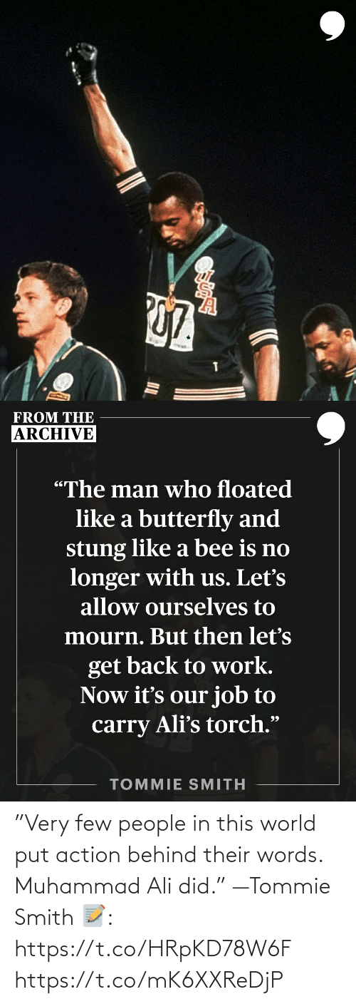"""Ali, Memes, and Muhammad Ali: """"Very few people in this world put action behind their words. Muhammad Ali did."""" —Tommie Smith   📝: https://t.co/HRpKD78W6F https://t.co/mK6XXReDjP"""