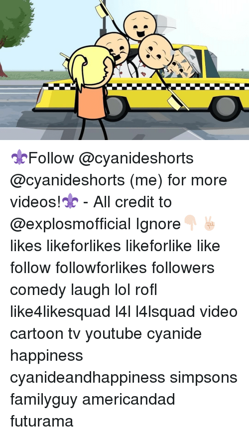 Memes, Cartoon, and Cartoons: ⚜Follow @cyanideshorts @cyanideshorts (me) for more videos!⚜ - All credit to @explosmofficial Ignore👇🏻✌🏻️ likes likeforlikes likeforlike like follow followforlikes followers comedy laugh lol rofl like4likesquad l4l l4lsquad video cartoon tv youtube cyanide happiness cyanideandhappiness simpsons familyguy americandad futurama