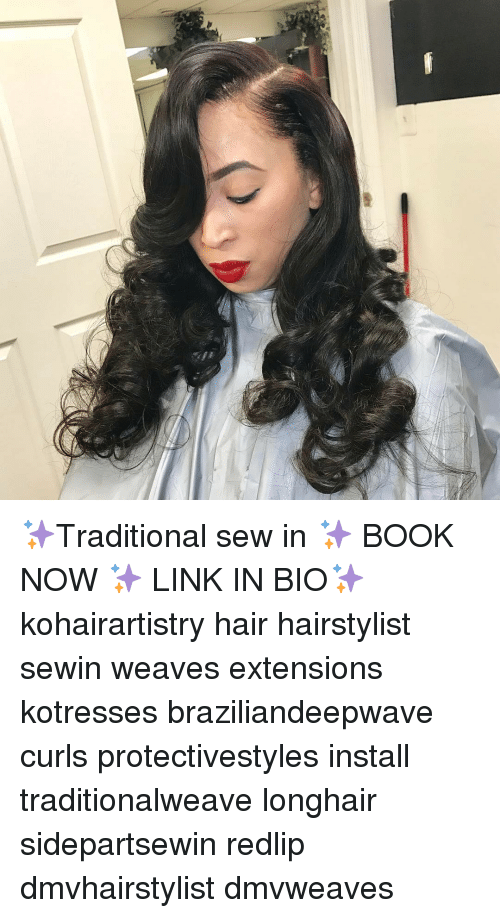 Traditional Sew In Book Now Link In Bio Kohairartistry