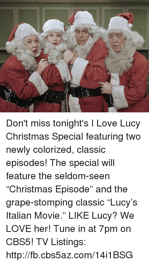 memes lucy and tuneful 3 dont miss dont miss tonights i love lucy christmas - I Love Lucy Christmas Special