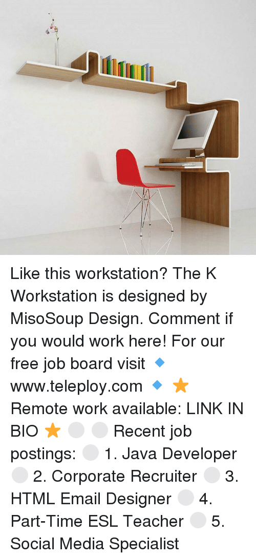 ー Like This Workstation? The K Workstation Is Designed by ...