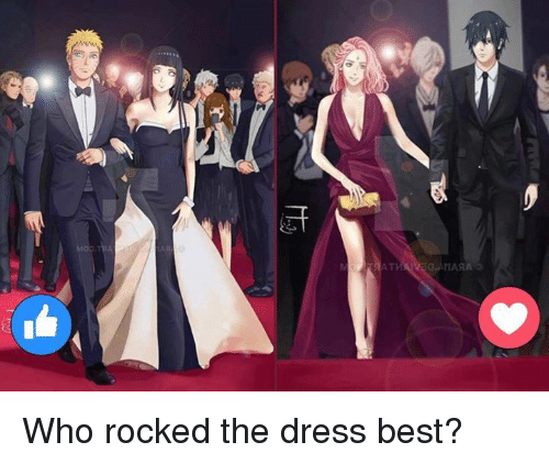 Memes, The Dress, and 🤖: 引  c- Who rocked the dress best?