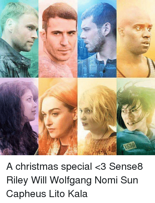 Sense8 Christmas Special.旧 1559 A Christmas Special 3 Sense8 Riley Will Wolfgang