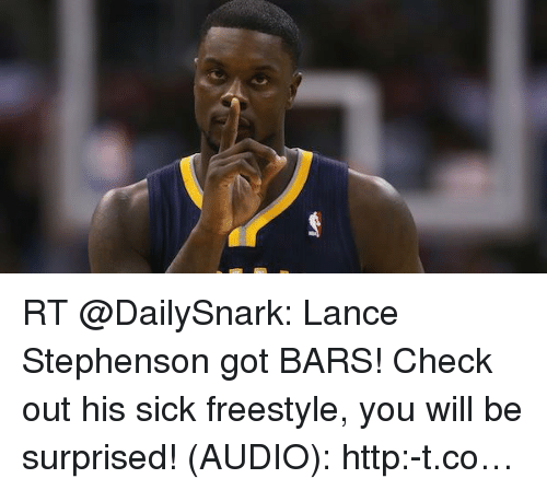 Lance Stephenson Blowing Out Candles