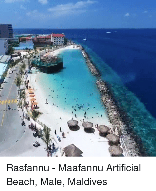 Dank Beach And Artificial 趱 Rasfannu Maafannu Male