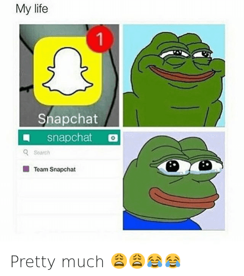 Pretty much 😩😩😂😂: Snapchat 1  snapchat  Search  Team Snapchat Pretty much 😩😩😂😂