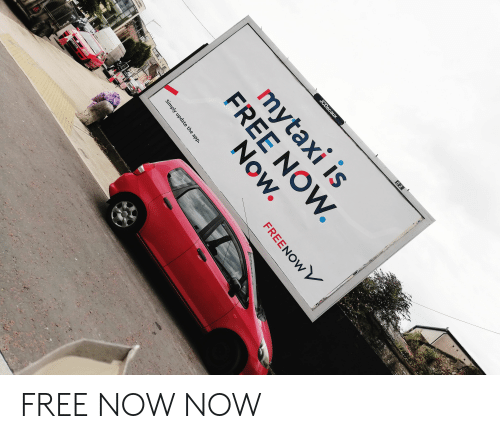 0 2 JCDecaux Mytaxi Is FREE NOW Now S HOS FREENOWV Simply