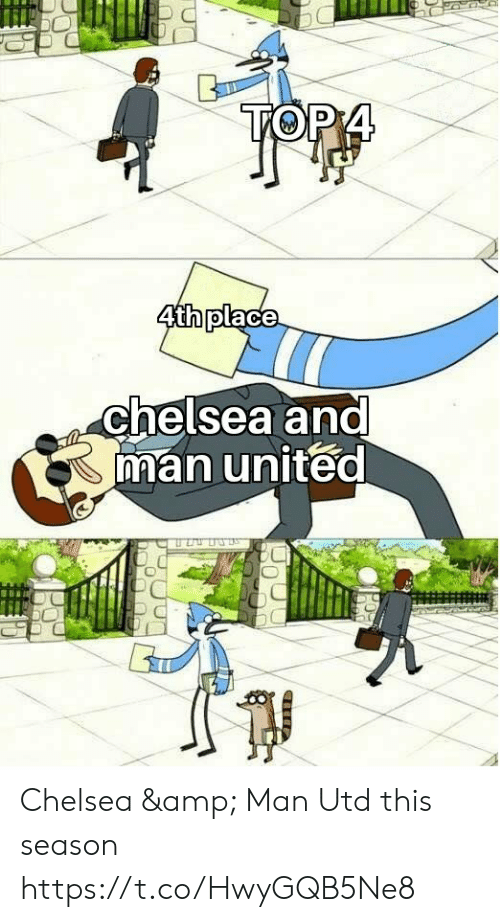 Chelsea, Memes, and United: 0  chelsea ana  man united Chelsea & Man Utd this season https://t.co/HwyGQB5Ne8