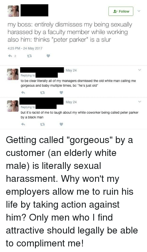 Peter gets sexually harassed by his boss