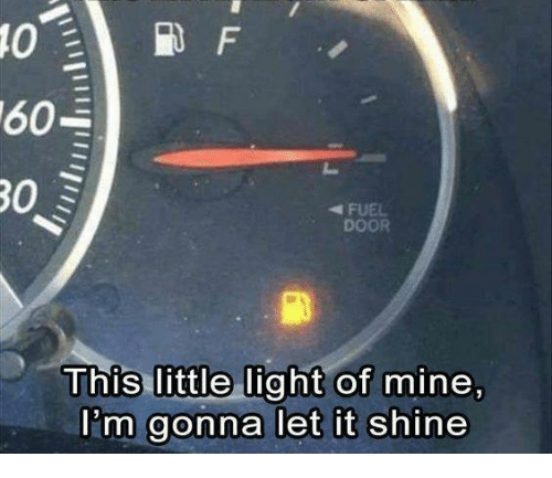 Dank, 🤖, and Mine: 0  FUEL  DOOR  mine,  This little light of  l'm gonna let it shine