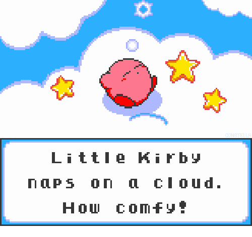 Cloud, How, and Rby: 0  Litte Ki rby  naps on cloud.  How comfy