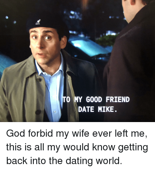 getting back in the dating world