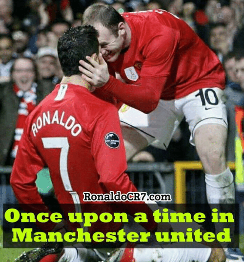 Memes, Manchester United, and Once Upon a Time: 0  RonaldoCR7.com  Once upon a time in  Manchester united