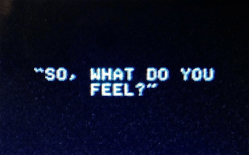 You, What, and Feel: $0, WHAT DO YOU  FEEL?