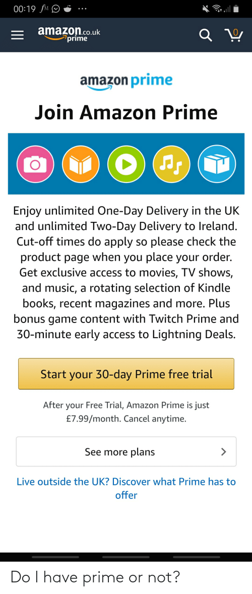 amazon co uk prime 30 day free trial