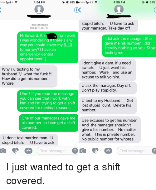 married boyfriend stopped texting me