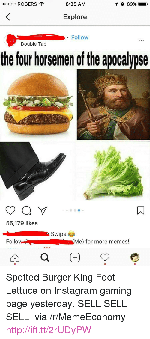 Burger King Instagram And Memes 0000 ROGERS 835 AM O