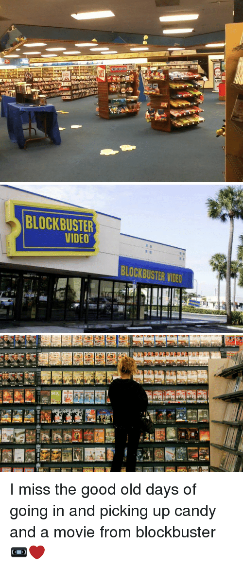 Blockbuster, Candy, and Funny: 000000   BLOCKBUSTER  VIDEO  BLOCKBUSTER VDE0   gg :医27길醒ing1 啸な凰栗ER I miss the good old days of going in and picking up candy and a movie from blockbuster 📼❤️