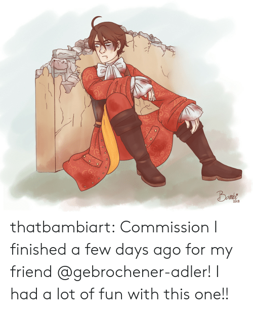Target, Tumblr, and Blog: 018 thatbambiart:   Commission I finished a few days ago for my friend @gebrochener-adler! I had a lot of fun with this one!!