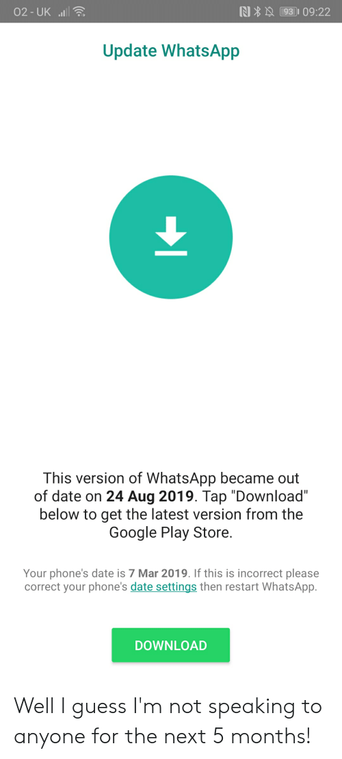02-Uk L Update WhatsApp This Version of WhatsApp Became Out of Date