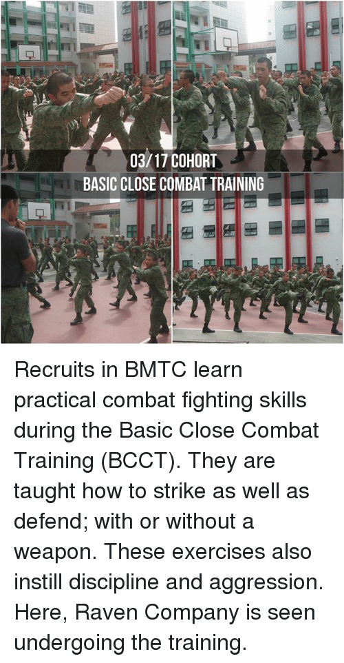 0317 COHORT BASIC CLOSE COMBAT TRAINING Recruits in BMTC Learn