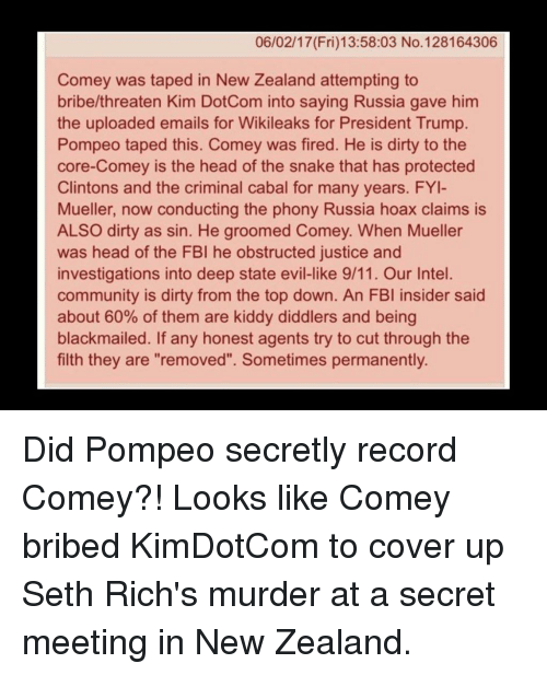 Trump Won T Block Comey S Testimony To Congress: 25+ Best Memes About Kim Dotcom