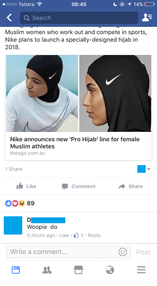 Best Memes About Pro Hijab Pro Hijab Memes - Nike is going to launch a hijab collection developed together with muslim athletes