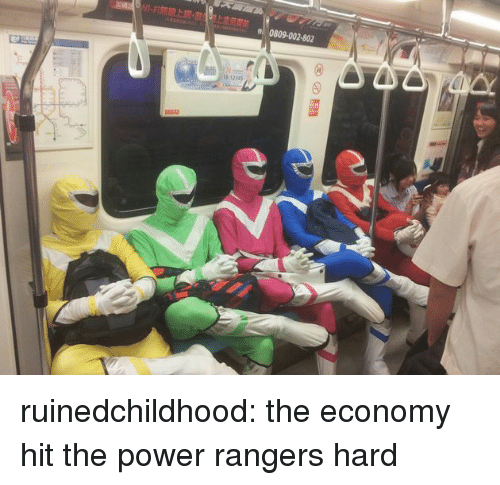 Power Rangers, Target, and Tumblr: 0809-002-802  12345 ruinedchildhood:  the economy hit the power rangers hard