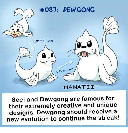 087 dewgong level 34 level 8 manatii seel and dewgong are famous for