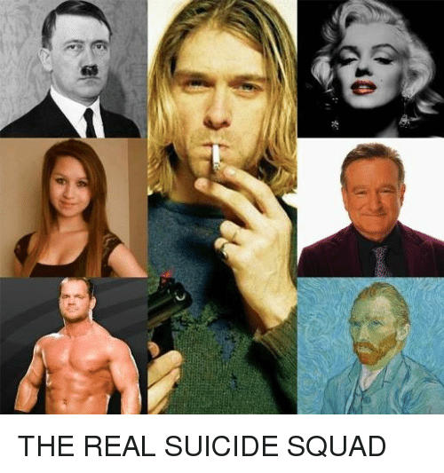 0x THE REAL SUICIDE SQUAD