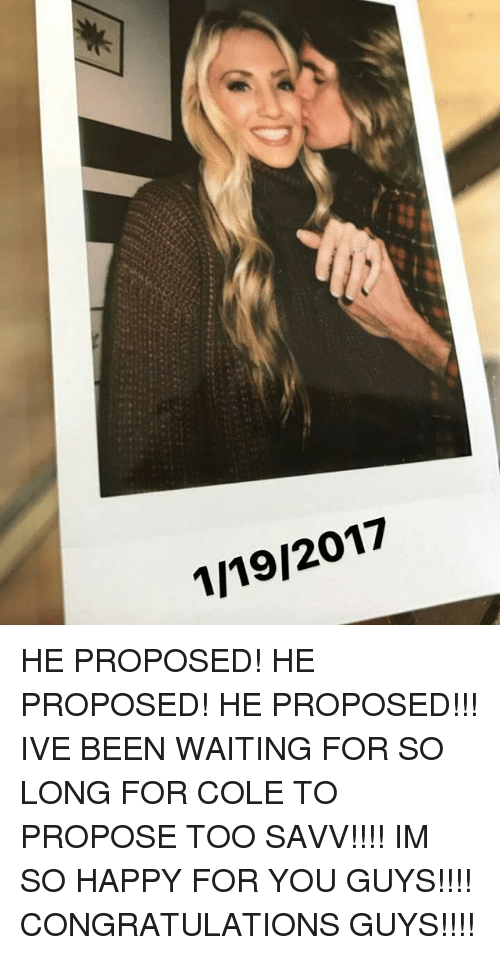 how long should i wait for him to propose