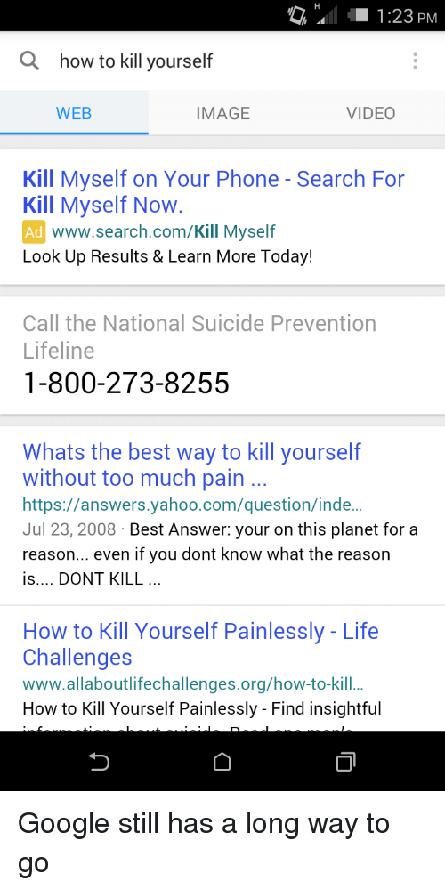 whats the best way to kill yourself