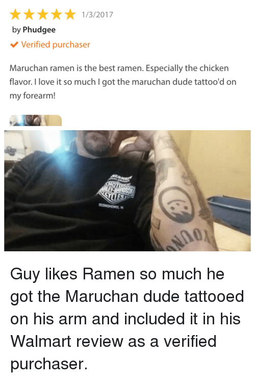 132017 by phudegee verified purchaser maruchan ramen is the best