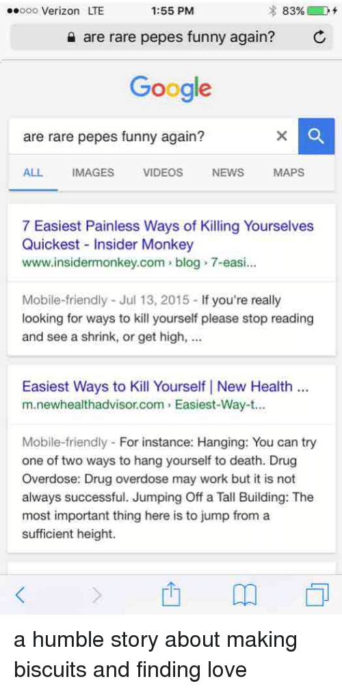 most painless way to kill yourself