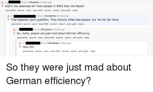 German Efficiency