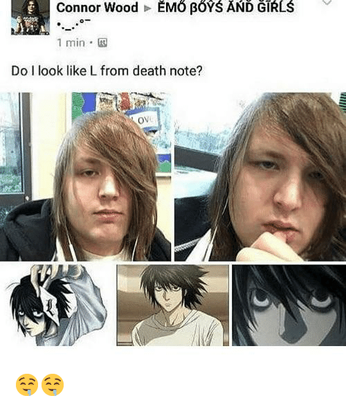 1 Min Do I Look Like L From Death Note Ov Death Meme On Me