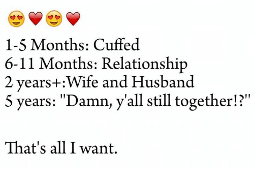 5 months relationship