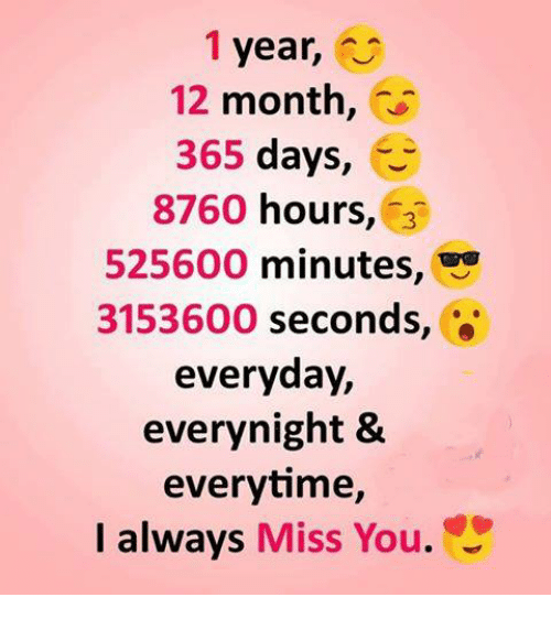 1 year 12 month 365 days e 8760 hours 3 525600 minutes 3153600
